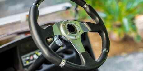 Optional Premium steering wheel