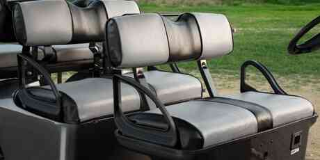Ergonomic two tone seats