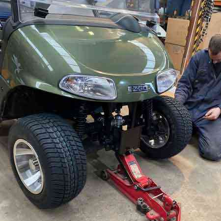 Golf buggy servicing UK