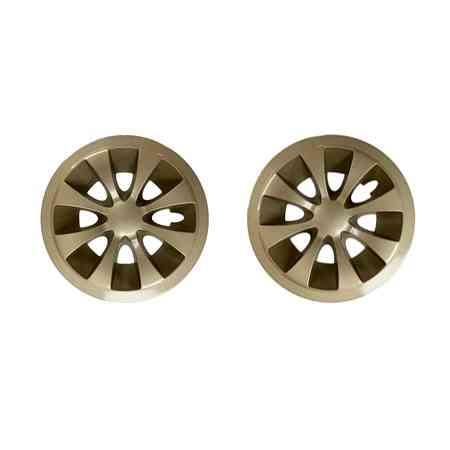 EZGO gold wheel trims