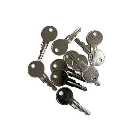 Metal golf buggy keys