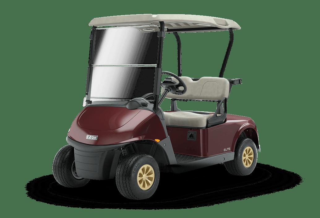 RXV Elite Lithium Golf Buggy Burgundy