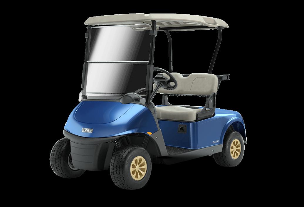 RXV Elite Lithium Golf Buggy Electric Blue