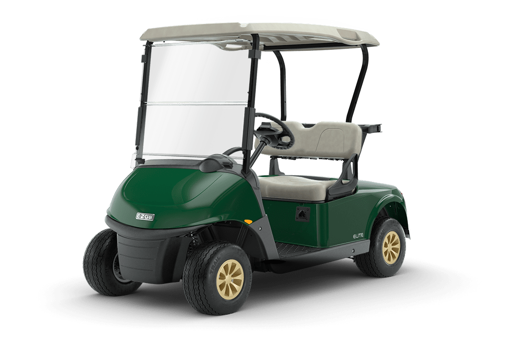 RXV Elite Lithium Golf Buggy Forest Green