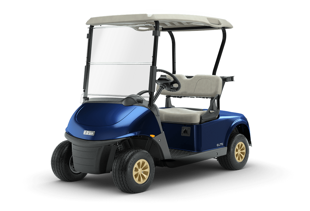 RXV Elite Lithium Golf Buggy Patriot Blue
