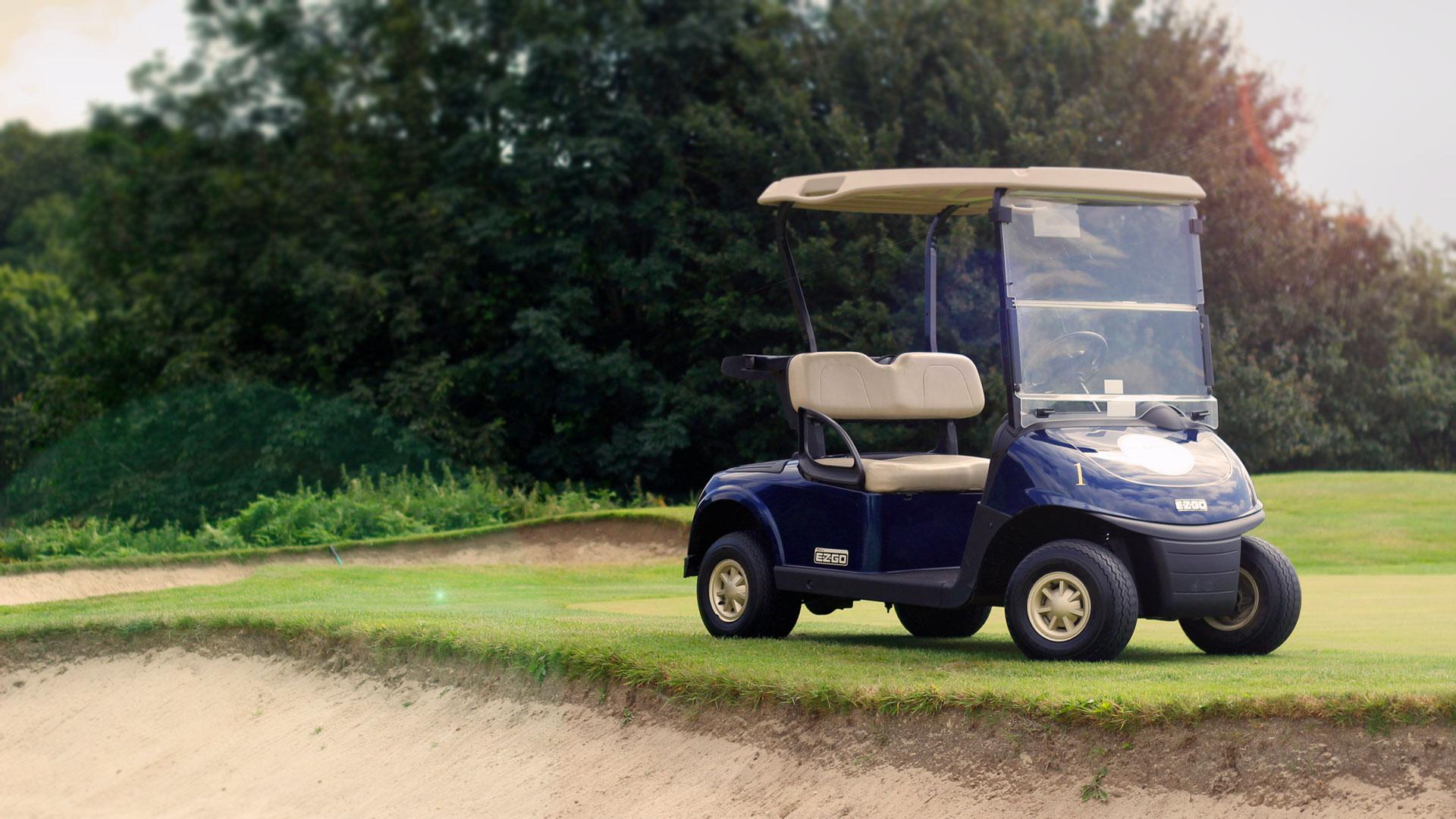 EZGO golf buggies for sale