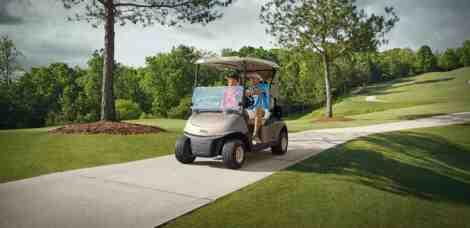EZGO RXV Golf Buggy
