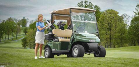 EZGO TXT Golf Buggy